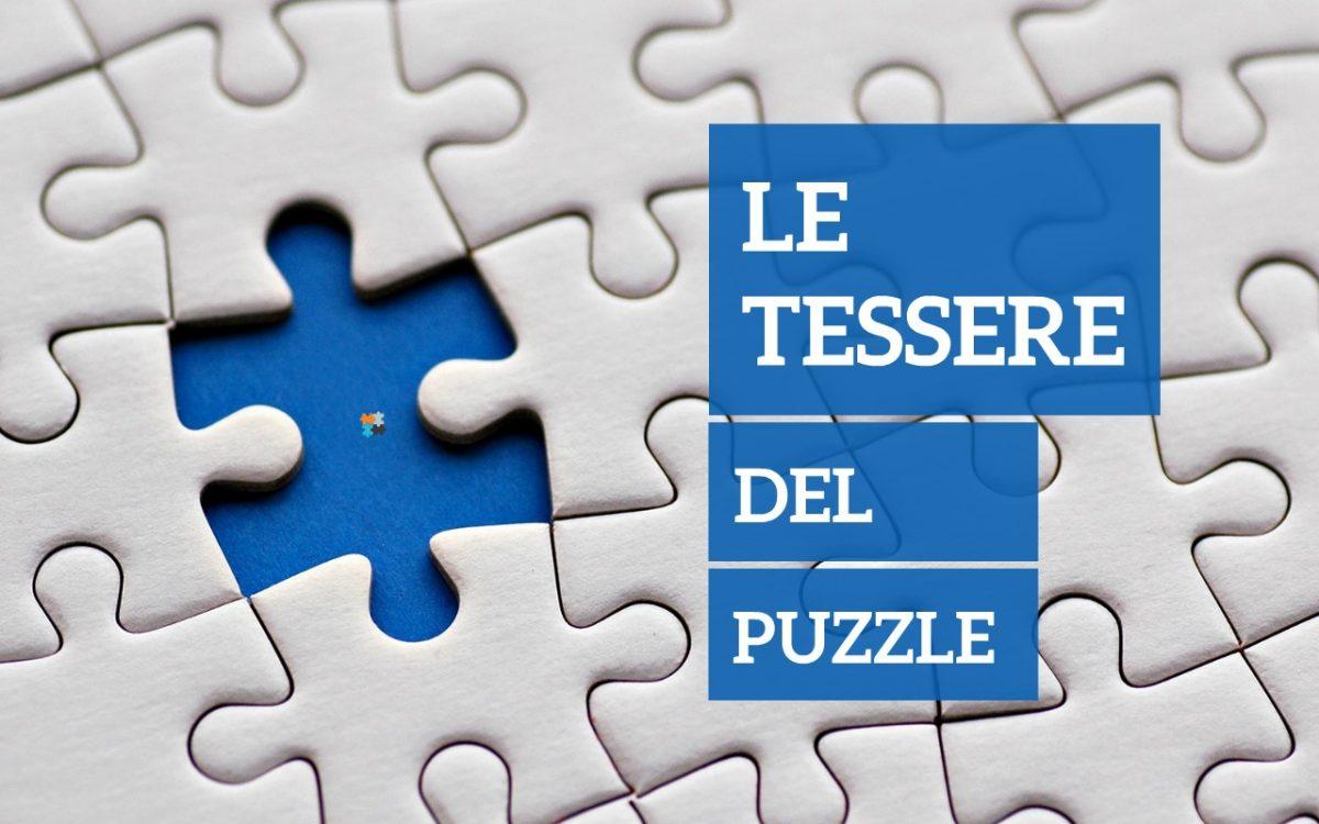 home page presentazione Le Tessere del Puzzle