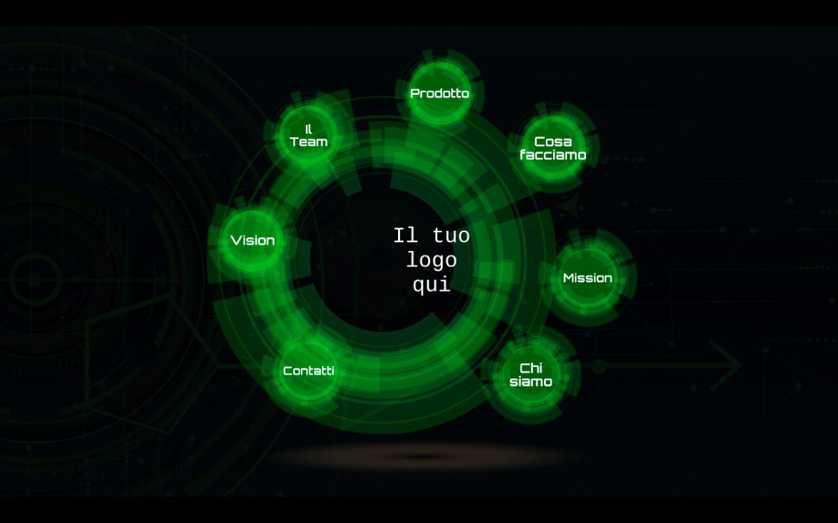 home page presentazione Radar