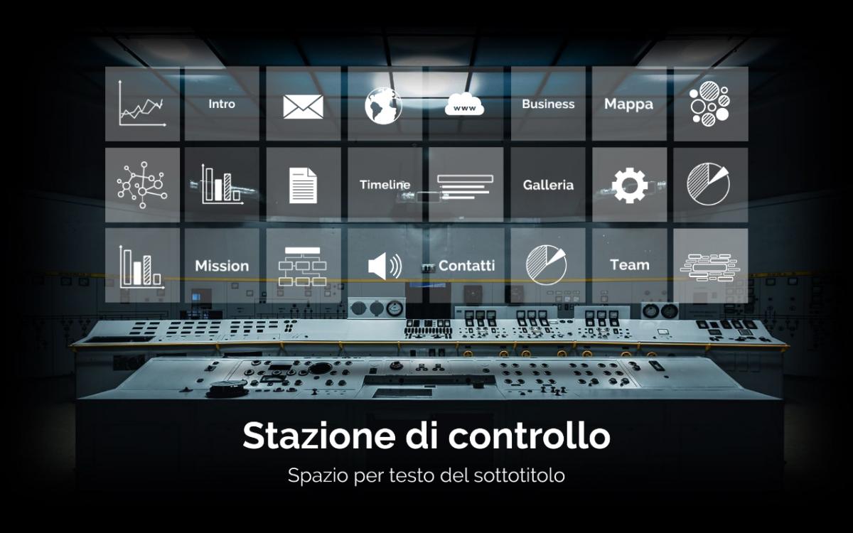 home page presentazione Stazione di Controllo